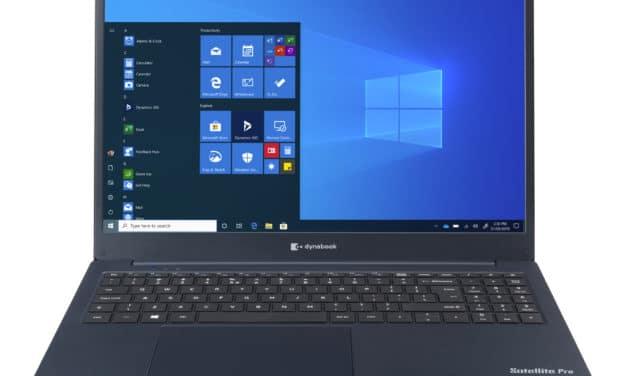 """Dynabook Satellite Pro C50-G-101, Ultrabook 15"""" bleu fin rapide et léger avec SSD et USB-C (599€)"""