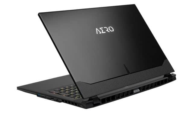Gigabyte Aero 17 HDR XD-73FR544SP, PC portable 17 pouces 4K Pro gamer createur AdobeRGB RTX 3070 Tiger Lake-H TB4 (2699€)