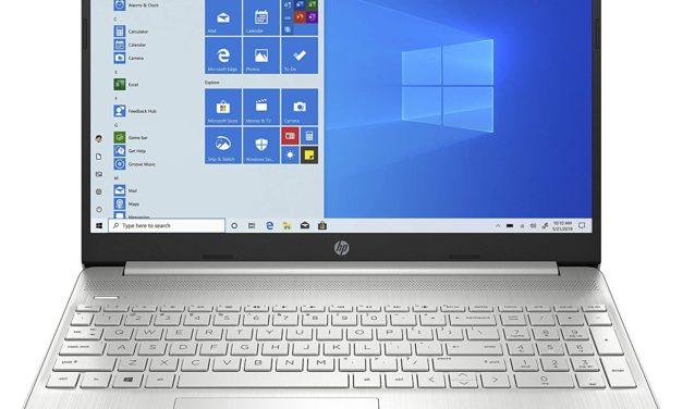 """<span class=""""promo"""">Promo 419€</span> HP 15s-fq2002sf, Ultrabook 15"""" argent polyvalent léger fin et rapide avec SSD 512 Go"""