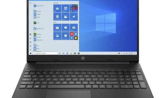 """HP 15s-fq2004nf, Ultrabook 15"""" noir polyvalent pas cher léger fin et rapide avec SSD, USB-C et Intel Tiger Lake (369€)"""