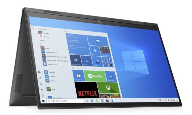 """<span class=""""promo-best"""">Promo 849€</span> HP Envy x360 15-eu0014nf, PC portable 15"""" 2-en-1 Tablette polyvalent AMD fin rapide et léger"""