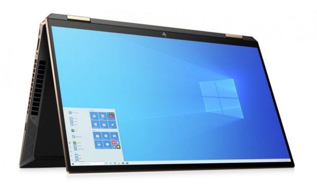 HP Spectre x360 15-eb1005nf, PC portable 2-en-1 15 pouces 4K multimédia (1499€)