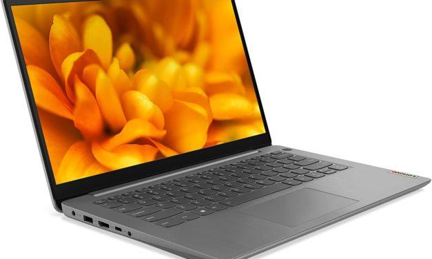 "Lenovo IdeaPad 3 15ITL6 (82H800SYFR), Ultrabook 15"" polyvalent argent léger rapide et fin avec Intel Tiger Lake (649€)"