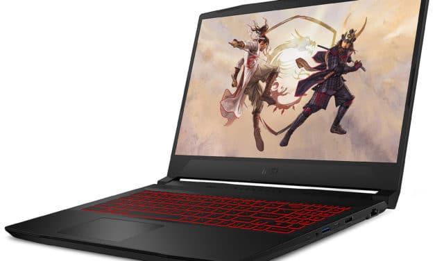 "MSI GF66 11UD-029FR Katana, PC portable 15"" 144Hz Pro multimédia Octo Core gamer créateur léger RTX 3050 Ti RAM 32 Go (1699€)"