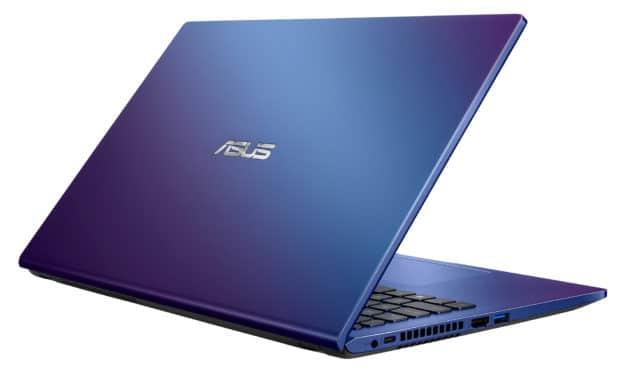 Asus X509JA-BR787T, PC portable 15 pouces bleu bureautique pas cher (429€)