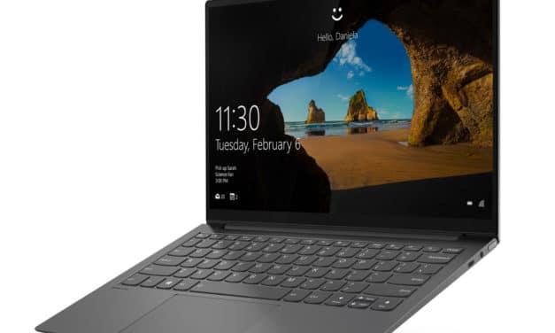 """<span class=""""promo"""">Promo 1039€</span> Lenovo Yoga Slim 7 13ACN5, ultrabook 13 pouces léger et puissant avec Ryzen 7 et écran QHD"""