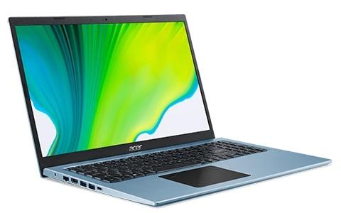 """<span class=""""promo"""">Promo 636€</span> Acer Aspire 5 A515-56-57RN, Ultrabook 15"""" bleu polyvalent fin léger rapide nomade 7h avec Tiger Lake Iris Xe"""