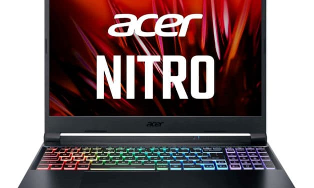"""Acer Nitro 5 AN515-45-R4ZX, PC portable 15"""" 360Hz gamer créateur puissant RTX 3080 Ryzen 9 RAM 32 Go (2349€)"""