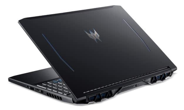 """Acer Predator Helios 300 PH315-53-557T, PC portable 15"""" 144Hz pour jouer et créer avec RTX 3060 et RAM 16 Go (1499€)"""