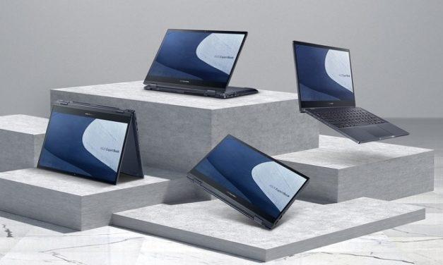"Asus ExpertBook B5 B5302C et Flip OLED B5302F, Ultrabook 13"" (2-en-1 OLED DCI-P3) Pro robuste 14h fin et léger Tiger Lake Iris Xe TB4"