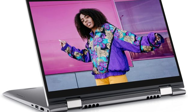 "Dell Inspiron 14 5410 2-en-1, Ultrabook 14"" tactile Tablette polyvalent léger rapide et fin Tiger Lake Iris Xe (749€)"