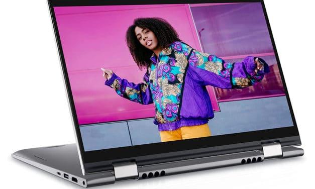 Dell Inspiron 14 5410 2-en-1, ultrabook tablette 14 pouces productif et rapide avec Iris Xe (879€)