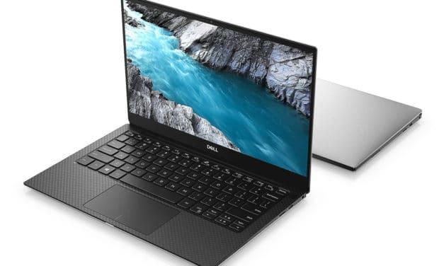 """Dell XPS 13 7390, Ultrabook 13"""" argent léger fin et rapide pour les nomades 11h avec Thunderbolt (649€)"""