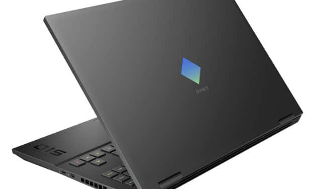 """<span class=""""nouveau"""">Nouveau 1599€</span> HP Omen 15-en1027nf, PC portable 15"""" 144Hz gamer créateur avec RTX 3060 et AMD Ryzen Cezanne"""