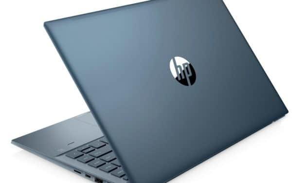 HP Pavilion 14-ec0084nf, ultrabook 14 pouces bleu productif (799€)