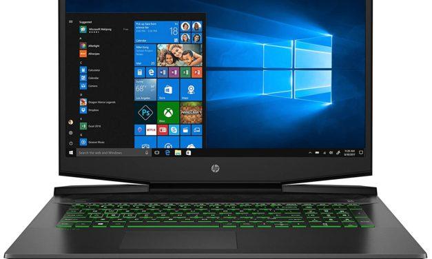 """HP Pavilion Gaming 17-cd1001sf, PC portable 17"""" noir polyvalent orienté création et jeu avec GTX 1650 Ti (919€)"""