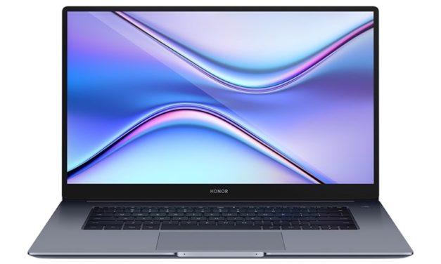 """<span class=""""promo-best"""">Promo 499€</span> Honor MagicBook X 15, ultrabook 15 pouces léger et design pour la bureautique"""