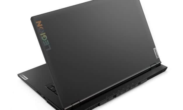 Lenovo Legion 5 17IMH05H, PC gamer 17 pouces polyvalence et jeu avec bonne autonomie et RTX 2060 (1199€)