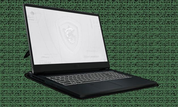 """MSI WE76, nouveau PC portable 17"""" 4K 120Hz AdobeRGB pour professionnels exigeants avec Tiger Lake-H Octo Core i9 ou Xeon, TB4 et NVIDIA RTX A5000"""