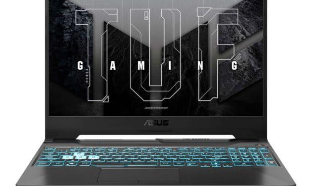 Asus TUF F15 TUF506LH-HN270, PC portable gamer 15 pouces 144Hz sans Windows (779€)