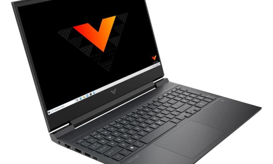 """<span class=""""nouveau"""">Nouveau 1499€</span> HP Victus 16-e0010nf, PC portable gamer sobre 16 pouces avec RTX 3060"""
