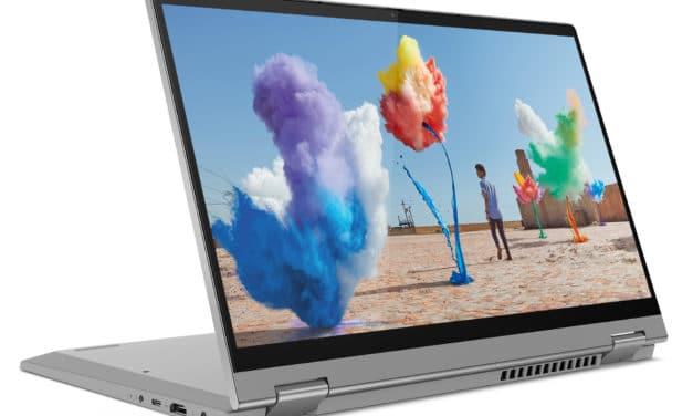 Lenovo IdeaPad Flex 5 14ALC05, ultrabook 14 pouces convertible tablette multimédia (589€)