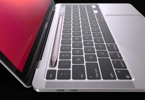 Apple MacBook Pro Apple Pencil dock