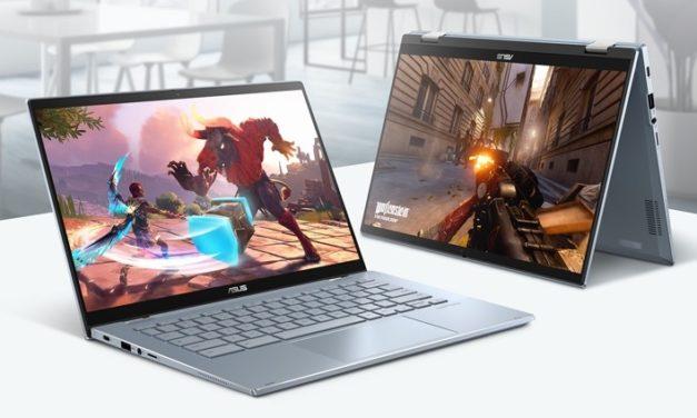 """Asus Chromebook Flip CX5400, nouveau PC portable 14"""" tactile 2-en-1 fin et léger convertible en Tablette avec Tiger Lake et TB4 sous Chrome OS"""