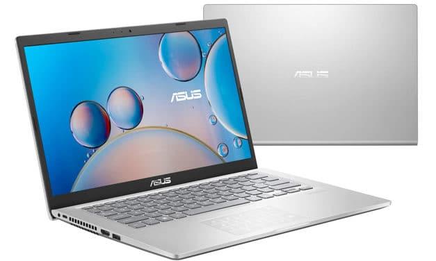 """Asus R415JA-EK1163T, Ultrabook 14"""" Full HD argent pas cher léger rapide et fin avec NumPad (529€)"""