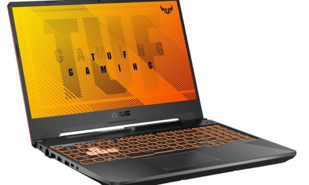 """Asus TUF Gaming F15 TUF506LH-HN259T, PC portable 15"""" 120Hz polyvalent pour créer et jouer GTX 1650 (799€)"""