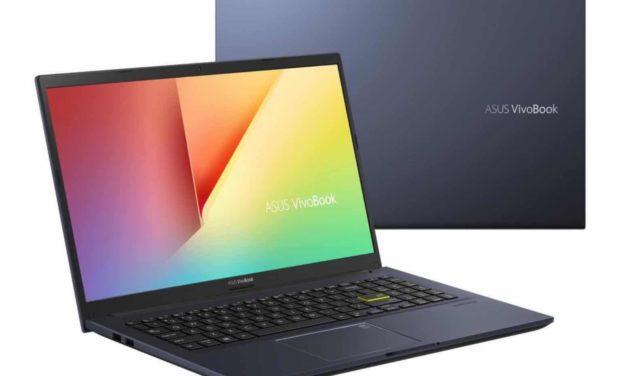 "<span class=""promo"">Promo 499€</span> Asus VivoBook S513EA-BQ1316T, Ultrabook 15"" polyvalent pas cher sobre léger rapide et fin avec Intel Tiger Lake"