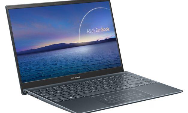 """Asus ZenBook 14 UX425JA-HM025T, Ultrabook 14"""" argent nomade 10h fin léger rapide TB3 avec pavé numérique NumPad (839€)"""