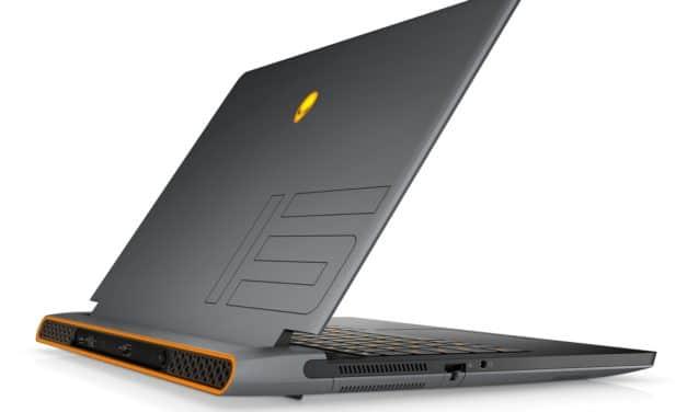 "Dell Alienware m15 R6, PC portable 15"" 360Hz gamer  puissant RTX 3080 créateur Intel Tiger Lake-H Octo Core TB4 (2269€)"