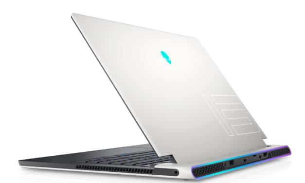 "Dell Alienware x15 R1, PC portable 15"" 165Hz gamer créateur fin blanc/noir RTX 3060 Octo Core Tiger Lake-H TB4 (2189€)"