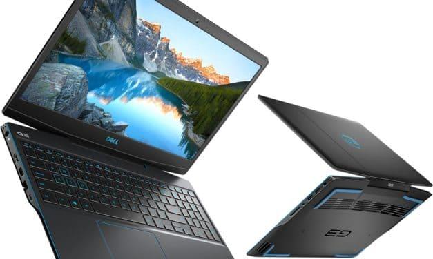 "Dell G3 15 3500-233, PC portable 15"" 120Hz gamer créateur RTX 3060 Intel Comet Lake-H Octo Core (1499€)"