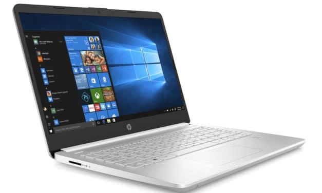 "HP 14s-dq2007nf, Ultrabook 14"" polyvalent argent léger rapide et fin Intel Tiger Lake Iris Xe Wi-Fi ax (699€)"