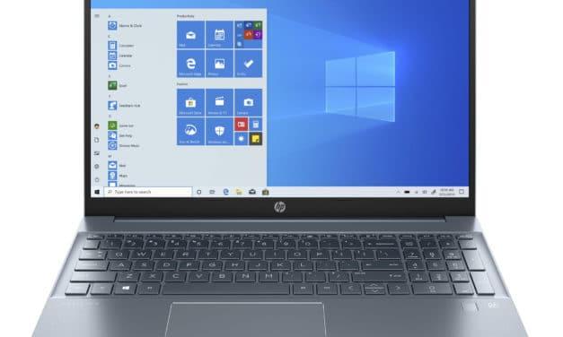 """<span class=""""promo-best"""">Promo 699€</span> HP Pavilion 15-eh1000sf, PC portable 15"""" polyvalent bleu rapide fin et léger AMD Wi-Fi ax"""