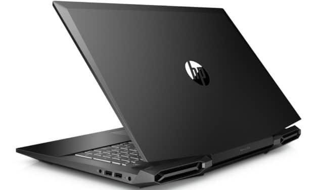 """HP Pavilion Gaming 17-cd2001nf, PC portable 17"""" polyvalent orienté jeu et création GTX 1650 Tiger Lake-H sans Windows (799€)"""