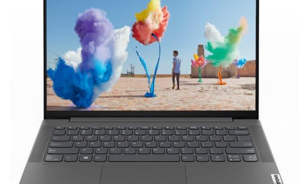 Lenovo IdeaPad 5 14ALC05, ultrabook 14 pouces rapide pour la productivité (679€)