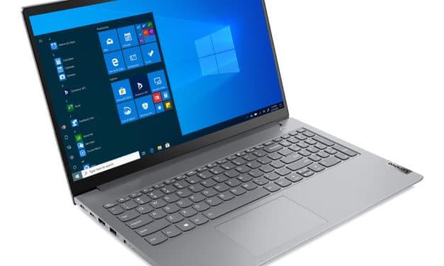 """Lenovo ThinkBook 15 G3 ACL (21A4002AFR), PC portable 15"""" Pro polyvalent AMD argent léger fin et rapide (849€)"""