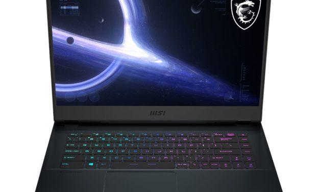 MSI GE66 11UG-407FR, PC gamer 15 pouces puissant avec QHD 240Hz et RTX 3070 (2349€)