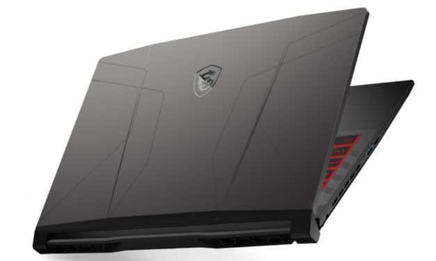 "MSI GL66 11UEK-046FR Pulse, PC portable 15"" 144Hz sRGB gamer créateur RTX 3060 Octo Core Tiger Lake-H léger (1649€)"