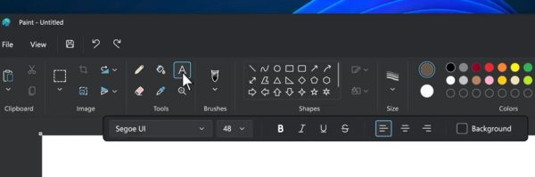 Windows 11 Paint
