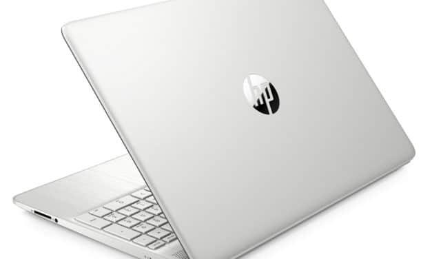 HP 15s-eq1110nf, PC portable 15 pouces productif et rapide avec SSD 1 To (699€)
