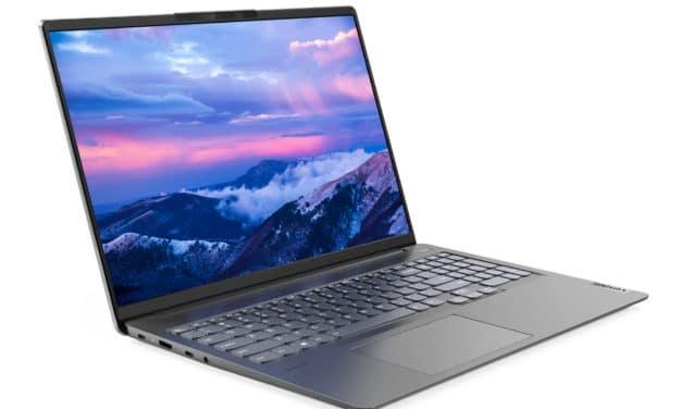 Lenovo IdeaPad 5 Pro 16ACH6, ultrabook 16 pouces polyvalent et élégant avec écran 2.5K (1149€)