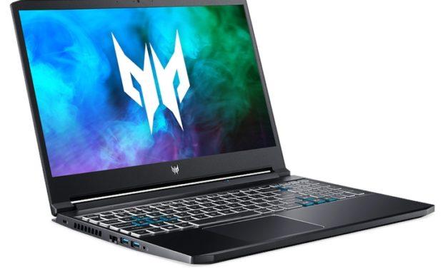 "Acer Predator Triton 300 PT315-53-71X2, Ultrabook 15"" 144Hz gamer puissant créateur fin léger RTX 3080 Tiger Lake TB4 (2199€)"