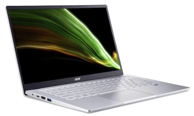 """Acer Swift 3 SF314-43-009, Ultrabook 14"""" argent AMD polyvalent fin léger et rapide nomade 11h (799€)"""
