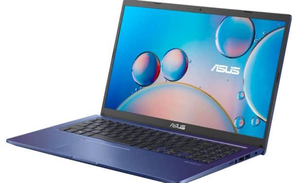 """Asus S516JA-BQ1752T, Ultrabook 15"""" pas cher au design bleu original fin rapide et léger avec SSD et USB-C (499€)"""