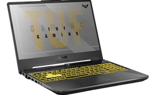 """Asus TUF Gaming F15 TUF566LH-HN219T, PC portable 15"""" 144Hz polyvalent pour créer et jouer avec GeForce GTX (849€)"""