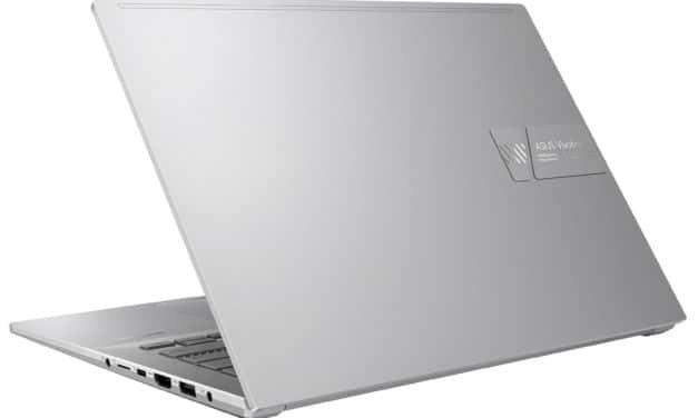 """<span class=""""promo-best"""">Promo 1279€</span> Asus Vivobook Pro 14X N7400PC-KM012T, Ultrabook 14"""" OLED 90Hz DCI-P3 pour créer et jouer RTX 3050 Tiger Lake-H léger TB4"""